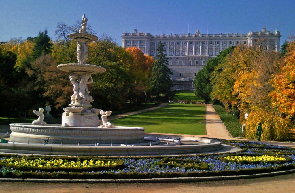 Los cinco jardines de madrid centro imprescindibles for Jardines del moro
