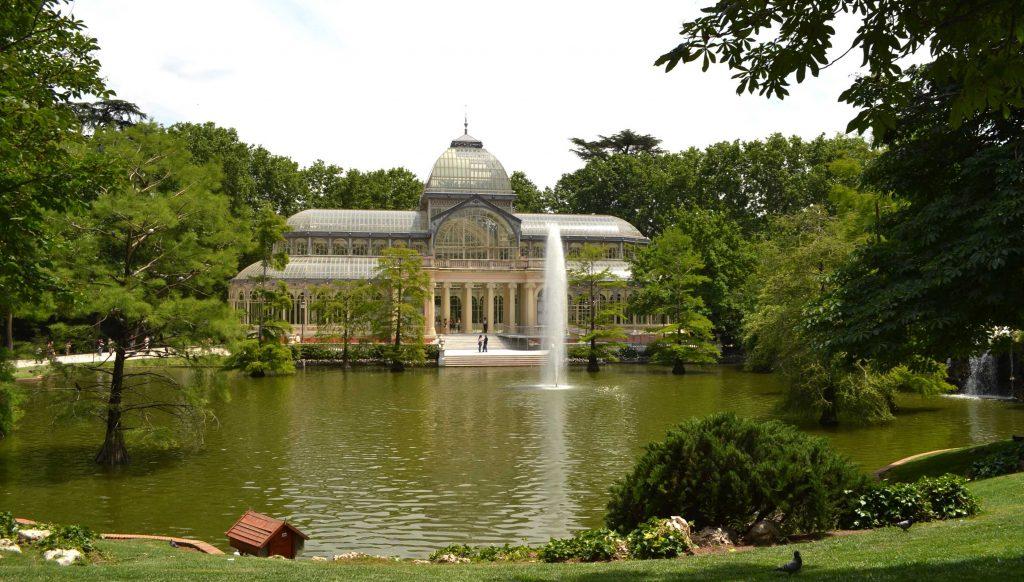Jardines de Madrid Centro