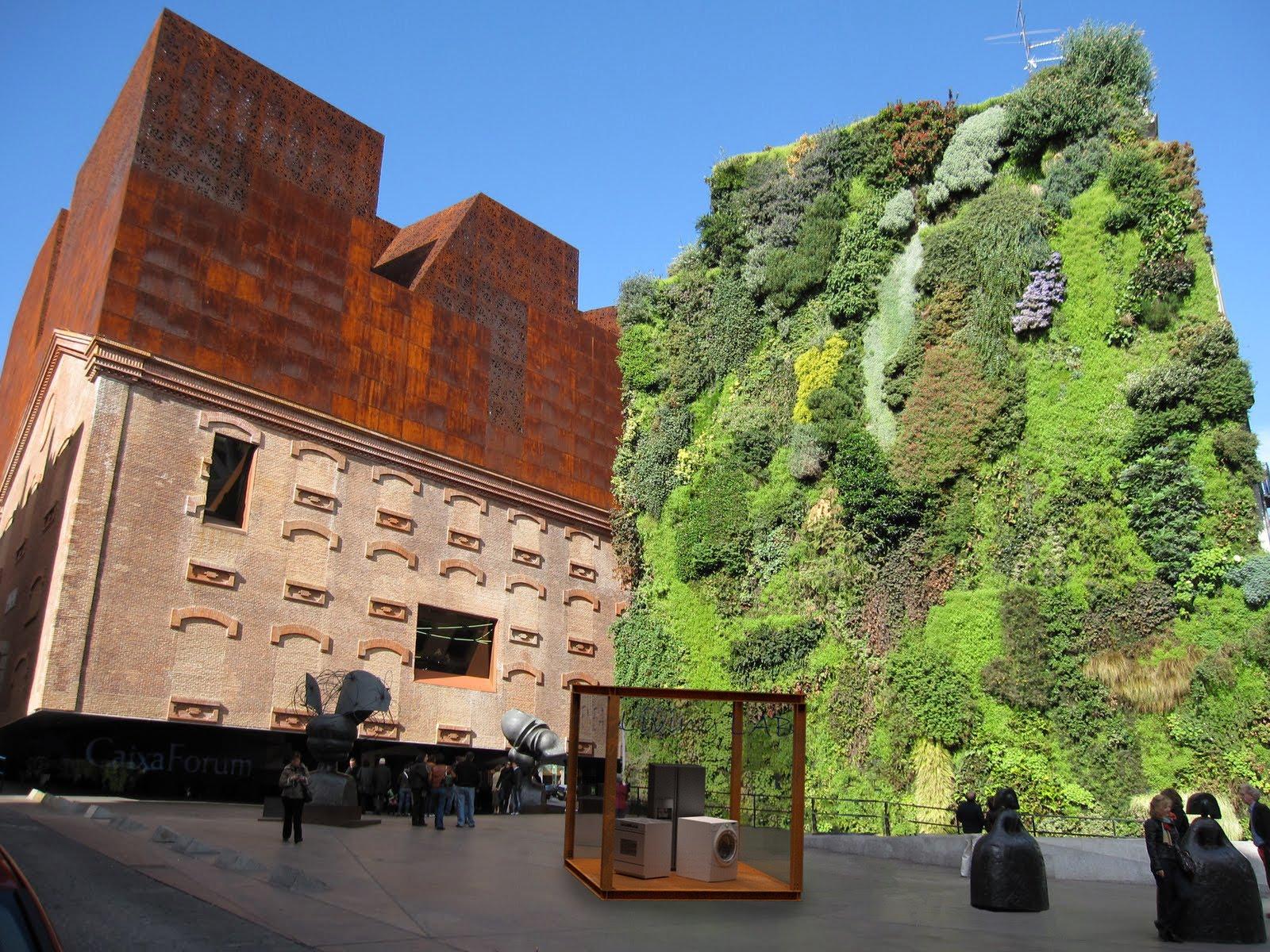 Jardines verticales caixa forum