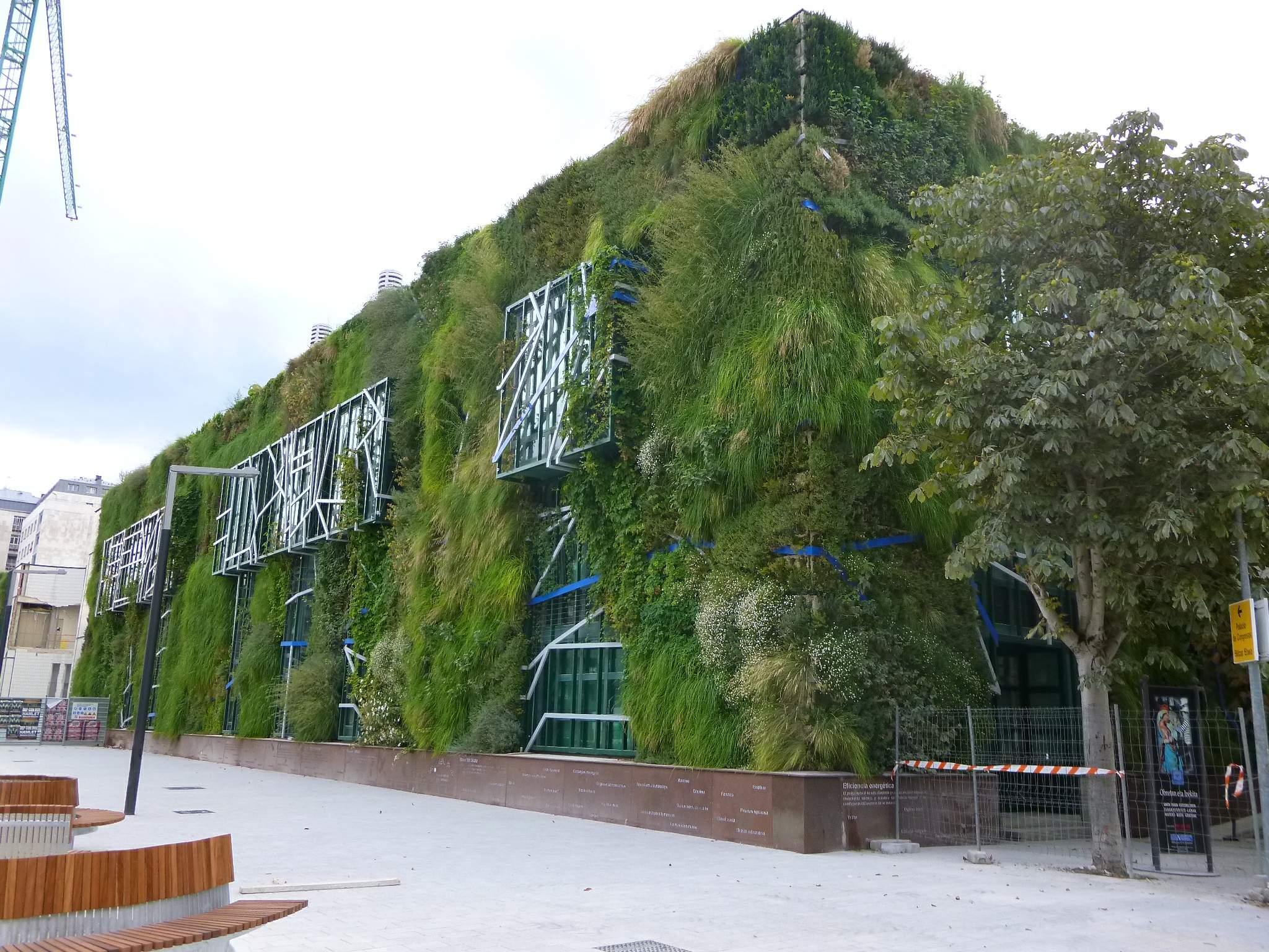 jardines verticales vitoria